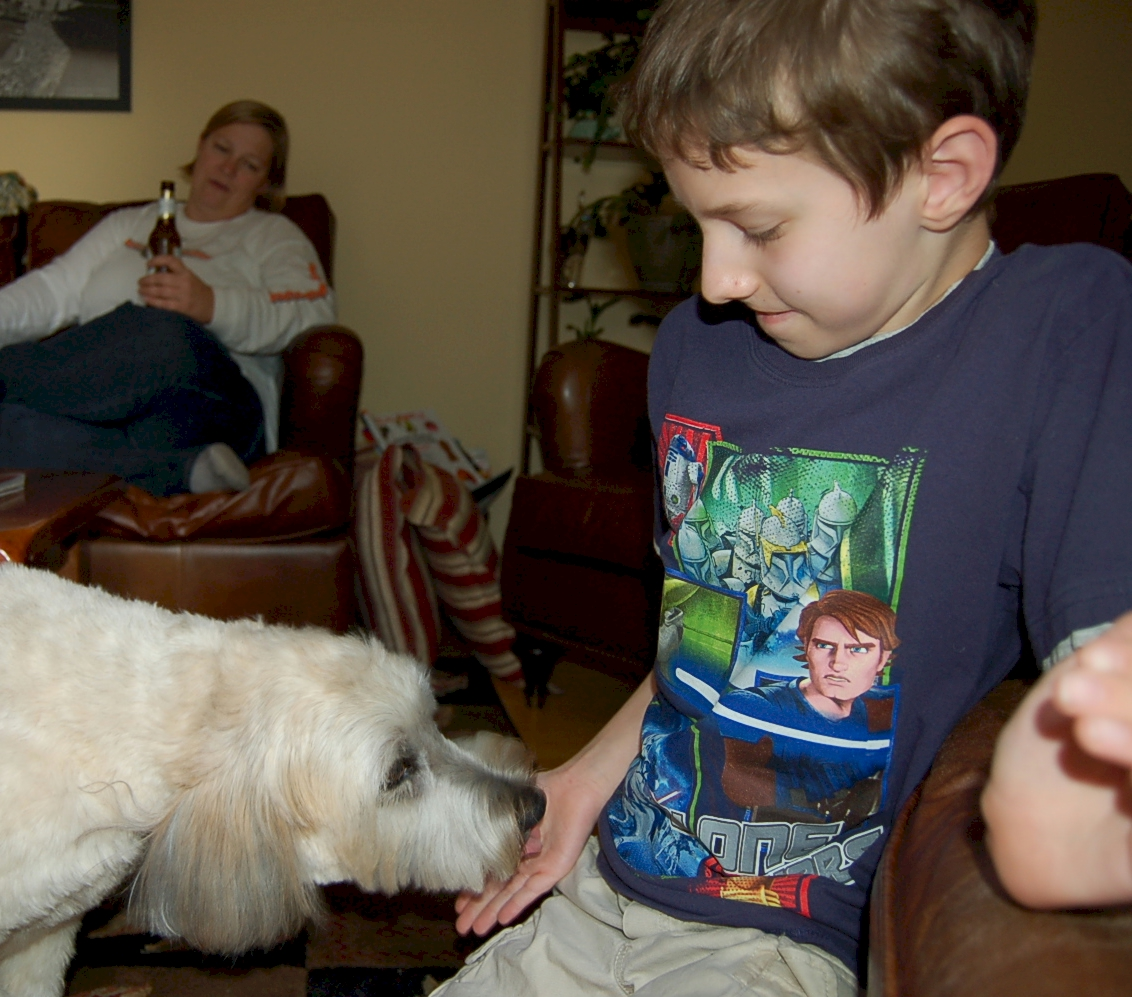 Ivy Meets Number One Son: A Dog and Her Boy