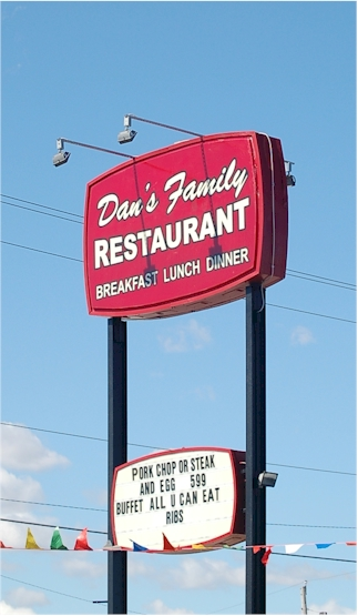 Dan's Family Restaurant, Sturgis, Michigan