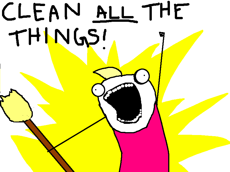 Do ALL the Things! (From Hyperbole and a Half)
