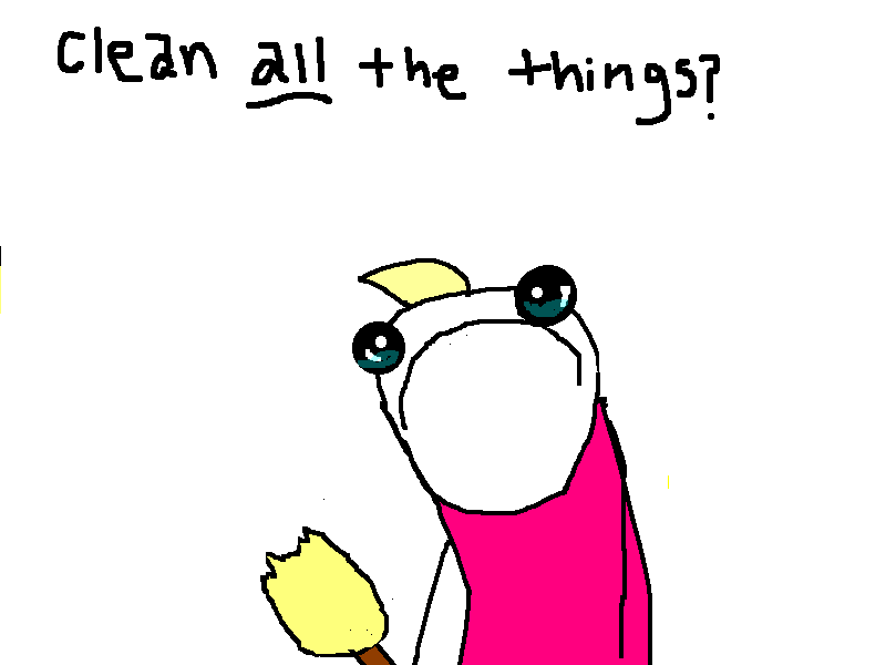 Do ALL the things?  (From Hyperbole and a Half)