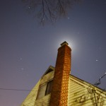 Day 45 - Chimney Moon (January Outtake)