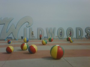 And We're Dancing on the Top of the Wildwoods Sign