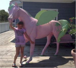 A Very Pink Horse